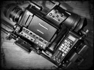 Panasonic AF100 with AJA Ki Pro Mini