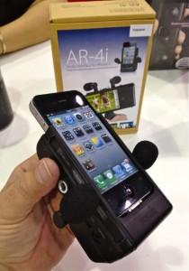 Fostex AR-4i microphone interface